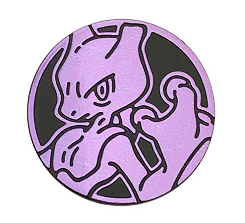 - Official Pokemon Coin - Mewtwo (Tournament Legal) Card Game Flipping Coin