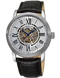Stuhrling Original Men's Classic Delphi Venezia Automatic Skeleton Black Watch 1077.33152