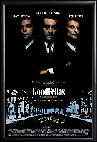 Goodfellas Movie Poster Framed - Movie Framed Poster