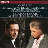 Mozart: 4 Sonatas for Piano and Violin, K. 301