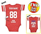 Custom Jerseys for Babies - Make Your OWN Jersey Onesie - Personalized Baby Onesies & Newborn Outfits