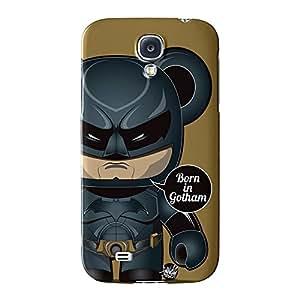 Batman Full Wrap Case Impreso en 3d gran calidad, Snap-on Cover para Samsung Galaxy S4, diseño de Gangtoyz