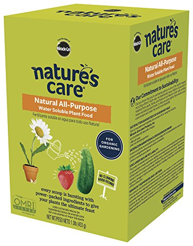 Nature's Care Natural All-Purpose Water Soluble Plant Food 1LB (Purpose Plant All Soluble Water)