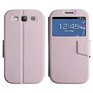 LEOCASE patrón llano Funda Carcasa Cuero Tapa Case Para Samsung Galaxy S3 I9300 No.1005335