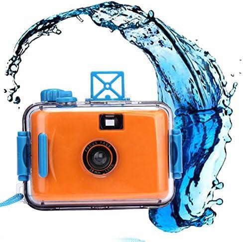 ClodeEU_Accessoires de téléphonie mobile ClodeEU❤❤Caméra sous-Marine étanche Mini 35mm Film Violet (Orange)