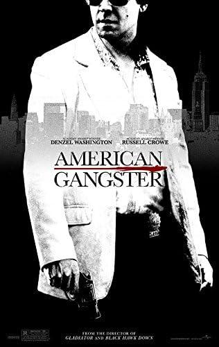 Amazon Com American Gangster 2007 Original Movie Poster 27x40 Dbl Sided Denzel Washington Russell Crowe Chiwetel Ejiofor Josh Brolin Everything Else