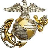 united states marine corps decal - Rogue River Tactical USMC United States Marine Corps Sticker EGA Emblem Car Decal Bumper Sticker (5