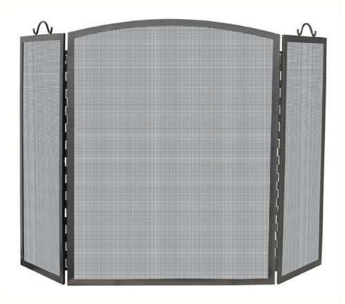UniFlame 3 Panel Olde World Iron Arch Top Screen, Large