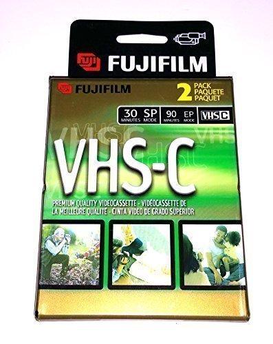 2 FujiFilm Video TC-30 VHS-C Premium Quality Videocassette VHS Camcorder Cassette 4331903591