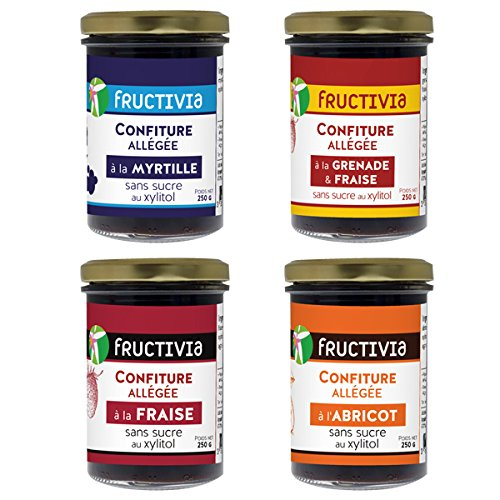 confiture abricot xylitol
