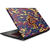 Skinit NBA Cleveland Cavaliers Omen 15in Skin - Cleveland Cavaliers Digi Camo Design - Ultra Thin, Lightweight Vinyl Decal Protection