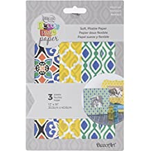 """Deco Art Decoupage Paper (3 Pack), 12"""" by 16"""", Moroccan"""
