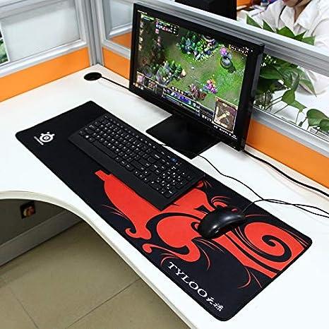 Cojín de ratón grande extendido del dragón Mantis Gaming y ...