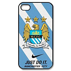 Manchester City MCFC Logo iphone 5 5s Hard Cover Case-Nike Just Do It