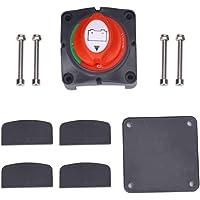 Interruptor Bateria coche,Desconectador de Bateria Moto /Automóvil,Interruptor Aislador de Batería 12V/24V 300A…