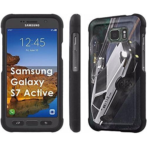 AT&T [Galaxy S7 Active][5.2 Screen] Phone Case [SlickCandy] [Black] Hard Protector Snap Designer Shell Case - [Corolla] for Samsung Galaxy [S7 Active] Sales