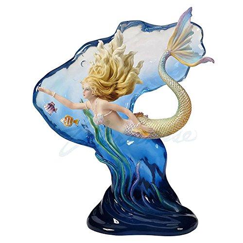 Veronese Design Heart of the Ocean Mermaid