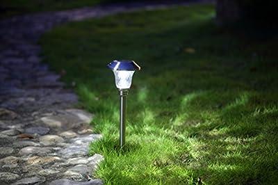 hosus Solar Pathway Lights Outdoor OR Solar Lights Outdoor OR Solar Garden Lights OR Solar Landscape Lights or Solar Lights for Yard/Patio/Garden/Walkway/Driveway