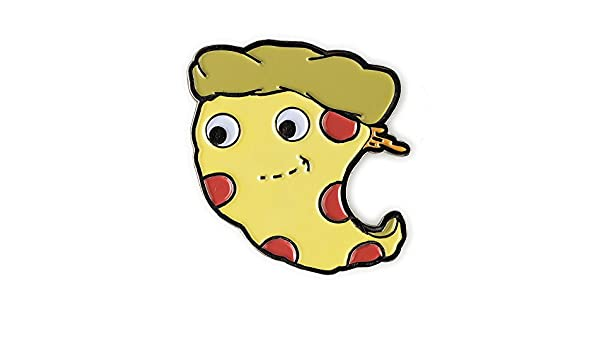 Kidrobot Yummy World Metal Enamel Pin Series 1 Cheesy Pie Pizza