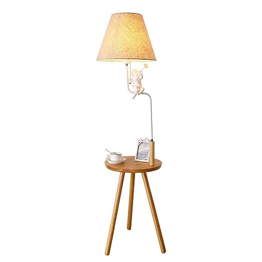 Industrial table lamp Lámpara de pie de Madera Europea Lámpara de ...