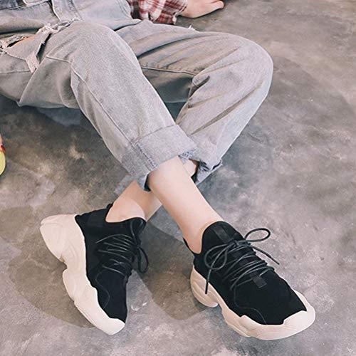 Sneakers Del Scarpe Donna Autunno Spessore Studente Fondo A Inverno Casual gUgAq