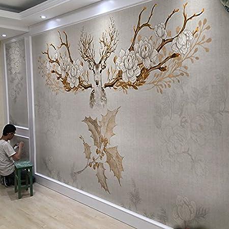 Kkllss 3d Wall Sticker Tv Hintergrund Tapete Selbstklebende