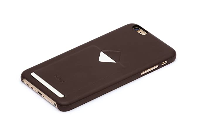 new arrival 4791e 19066 Amazon.com: Bellroy Leather iPhone 6s Plus Phone Case - 1 Card Java ...