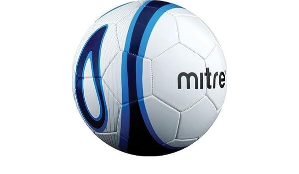 Mitre Mini Vasco 32 P un balón de fútbol, Color - Blanc y Azul ...