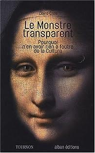 Le Monstre transparent par Claire Cros