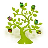 URBeauty Lucky Tree Desktop Cute Magnetic Memo Clips Photo Holders Note Multifunctional Decoration Magnetic Plastic Table Card Holders