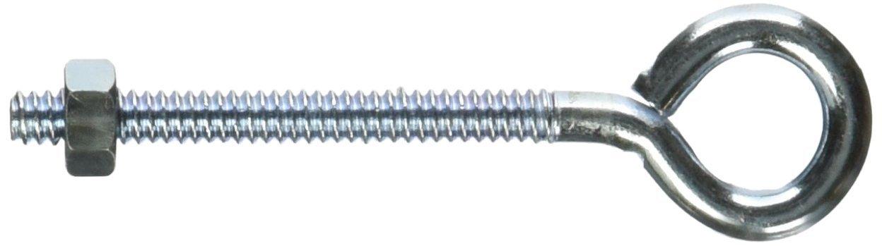Mintcraft LR267 3/16-Inch X 2-1/2-Inch Zinc Eye Bolt with Nuts