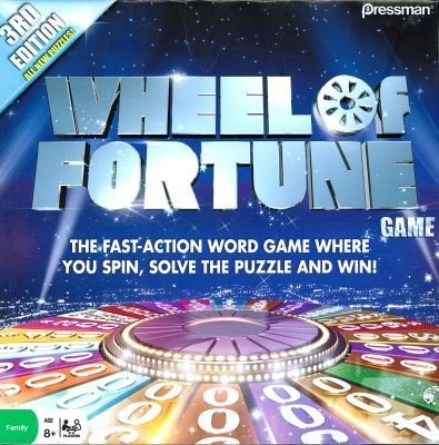 Wheel Of Fortune Game 3rd Edition (Wheel Of Fortune 4th Edition Board Game)