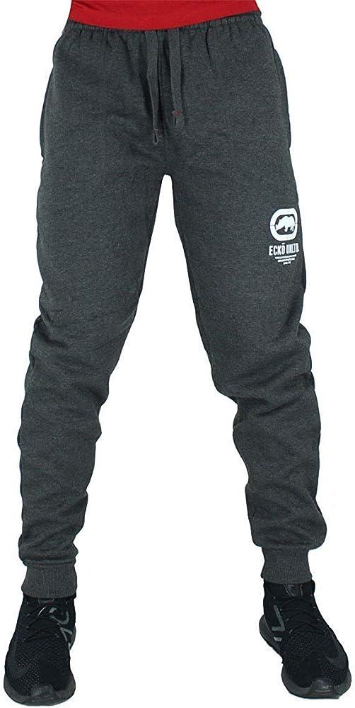 Ecko Hombre Algodón de Diseño Jogger Chándal Pantalones de Chándal, Negro, Azul, Gris - Gris Marengo, S: Amazon.es: Ropa y accesorios