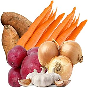 Farmers Market Organic Seasonal Vegetable Bundle (Hearty Organic Vegetable Box)