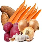 Farmers Market Organic Seasonal Vegetable Bundle (Hearty Organic Vegetable Box)