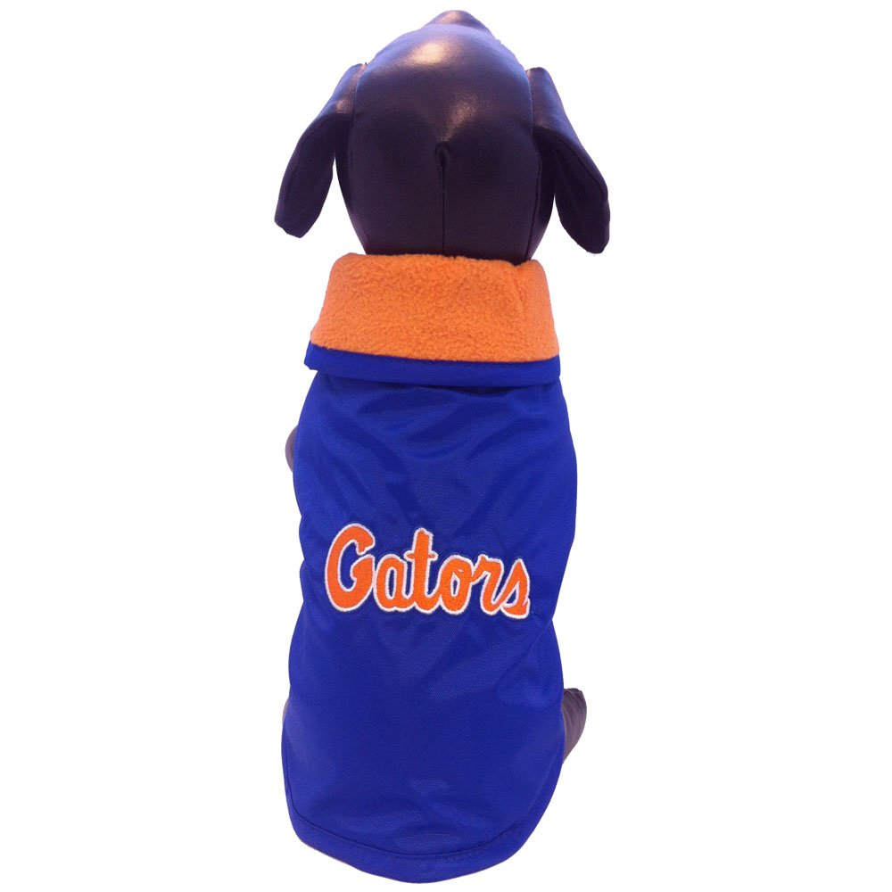 Large All Star Dogs Florida Gators All Weather Resistant Predective Dog Outerwear, Large
