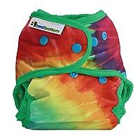 Best Bottom Cloth Diaper Shell-Snap, Totally Tie Dye