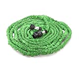 SoLed 2016 Newest Flexible Expandable Expanding Garden & Lawn Water Hose 25 Ft Feet Green