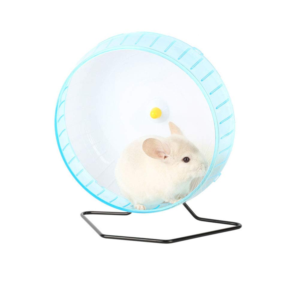 MeterMall 30CM Cute Sports Toy Stable Exercise Wheel Roller Toy for Hedgehog Hamster Rabbit Pets Supplies Blue L pet by MeterMall (Image #2)