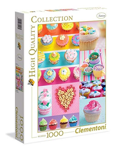 Clementoni High Quality Collection Puzzle Sweet Donuts 1000 Pezzi 39419