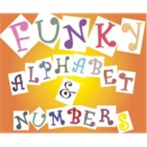 Funky Alphabet & Numbers Tappits by FMM by FMM SUGARCRAFT