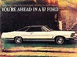 1967 Ford 14-page Brochure Catalog - Thunderbird LTD Galaxie Fairlane Mustang Falcon Convertible