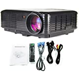 LightInTheBox 3D Smart LCD Projector Full HD 1080p Business Meeting Portable 3500lm Home Theater Movie