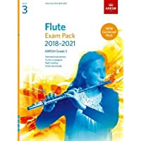 Flute Exam Pack 2018-2021, ABRSM Grade 3: Selected from the 2018-2021 syllabus. Score & Part, Audio Downloads, Scales & Sight-Reading (ABRSM Exam Pieces)