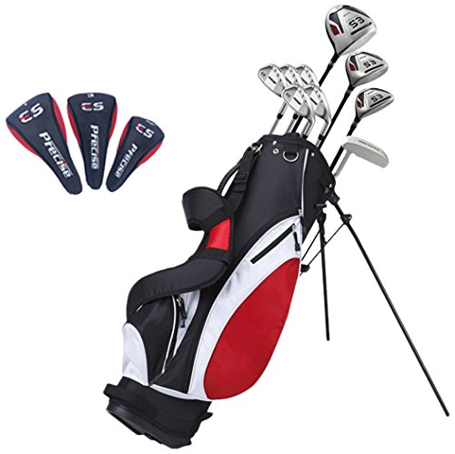 Precise ES Men's Tall Complete Golf Club Set (+1''), Right Hand by Precise