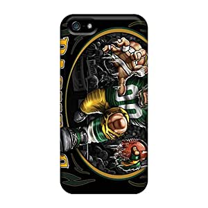 hill-hill Fashion Protective Green Bay Packers Case Cover For Iphone 5/5s