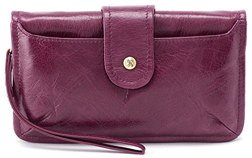 Hobo Vintage Hide Galaxy Wristlet (Eggplant) by HOBO