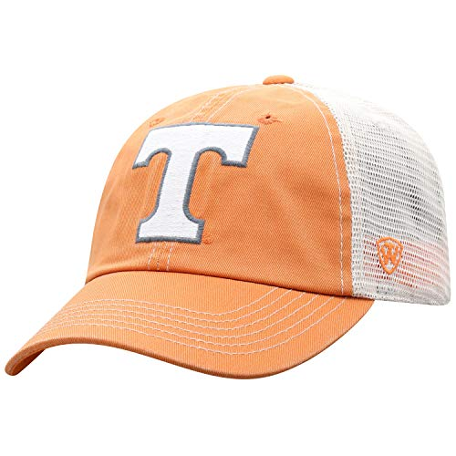 Top of the World Tennessee Volunteers Men's Vintage Hat Icon, Orange, Adjustable -