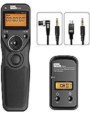 Wireless Shutter Release Compatible for Nikon, PIXEL 2.4G Remote Shutter Release Cable Wireless Timer Remote Control DC0/DC2 Compatible for Nikon D850 D750 D610 D5300 D3300 D7500 D1 D2 D3 D3s D4 D5
