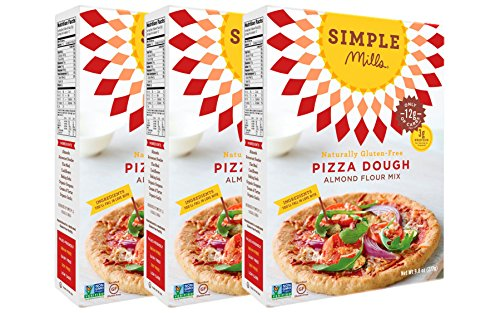 Simple Mills Pizza Dough Mix, 9.8 Ounce Box, 3 Count (Pizza Dough Paleo compare prices)